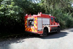 carro de bomberos ensamblado por Accequip