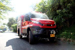 carro de bomberos Manizales