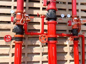 Válvulas red contra incendios