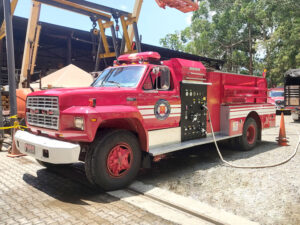 overhaul carro de bomberos